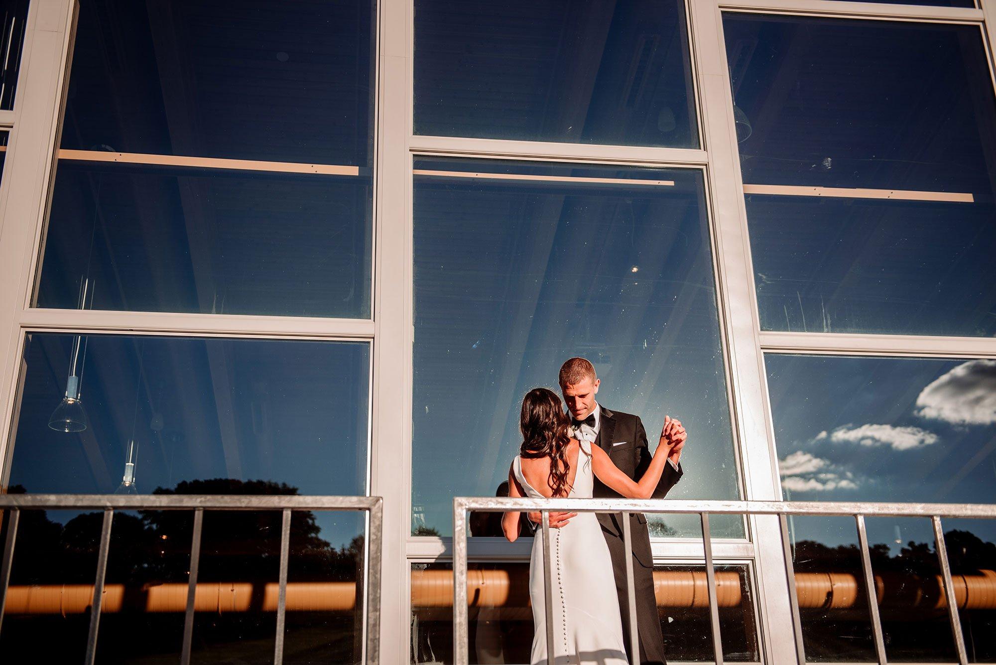 first dance at hyland hills wedding mn