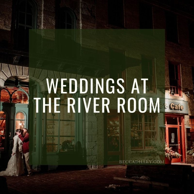 weddings at the river room of aster cafe minneapolis