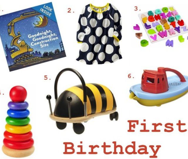 Becca Garber First Birthday Gifts