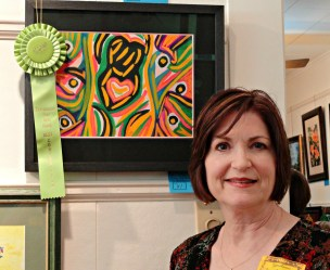 1st Ribbon from Spring Art Show