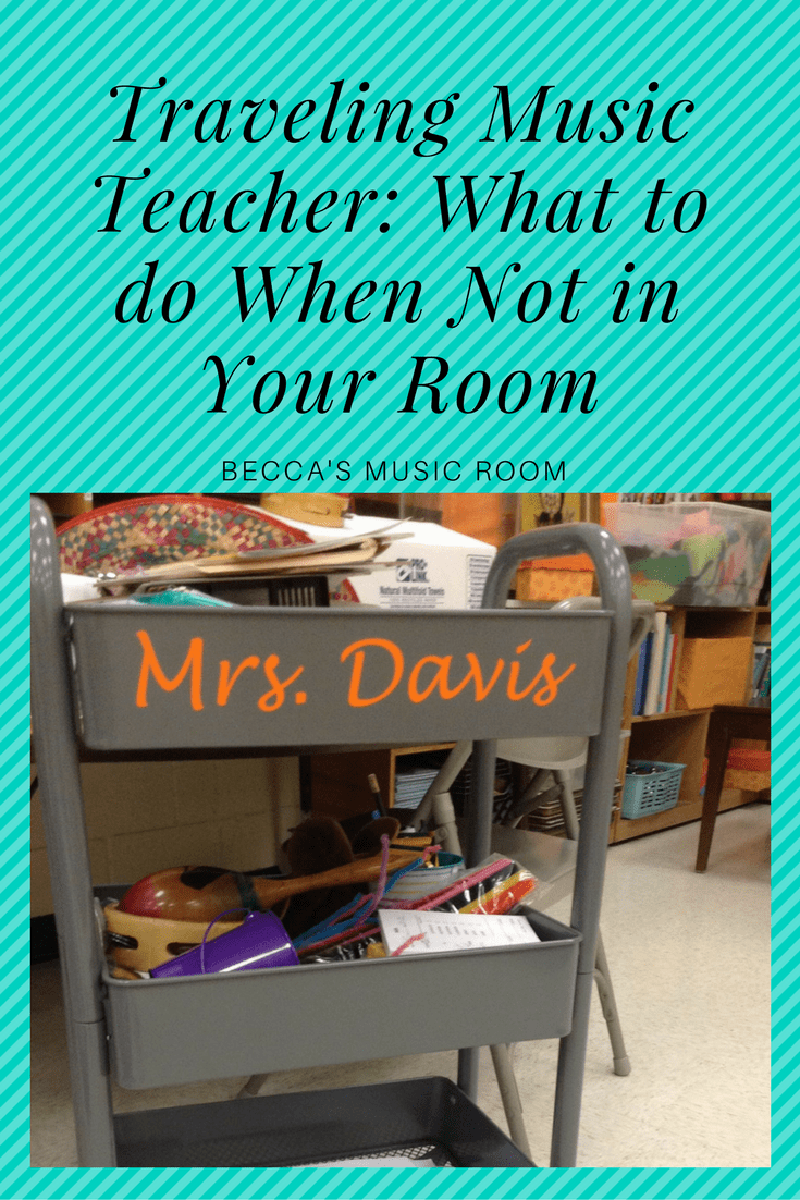 Becca's Music Room. Tips for music teachers who are stuck traveling to other teacher's classrooms. Fun ideas. Very useful.