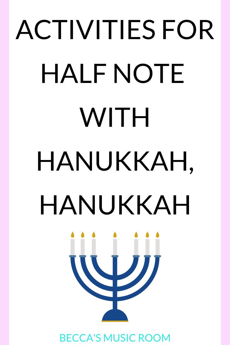 hight resolution of Greatest Music Activities for Hanukkah