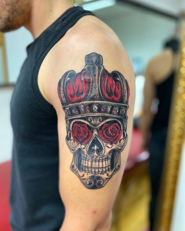 tatuerare katrineholm sverige blackandgray tattoo