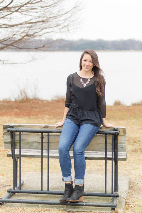 Ashley White Rock Lake | beccasuephotography.com