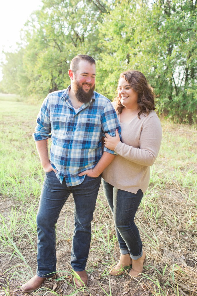 Denton, TX engagement session | Becca Sue Photography - beccasuephotography.com