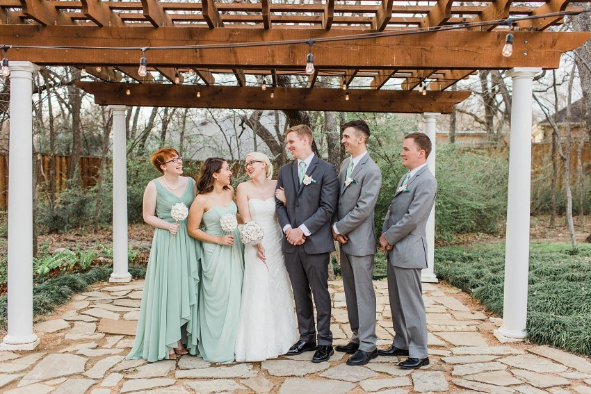 Elegant Sage Green Wedding - Denton, Texas | Becca Sue Photography - www.beccasuephotography.com