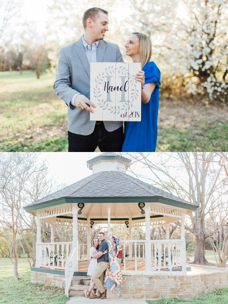 Spring Blossom Engagement Session | Becca Sue Photography - www.beccasuephotography.com
