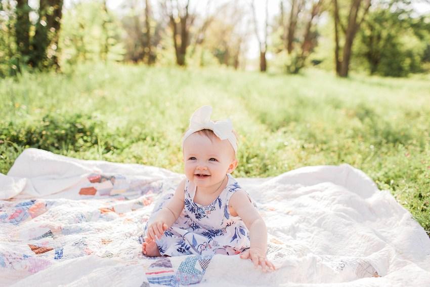 Sunshine & Spring Family Session (Euless, Texas)