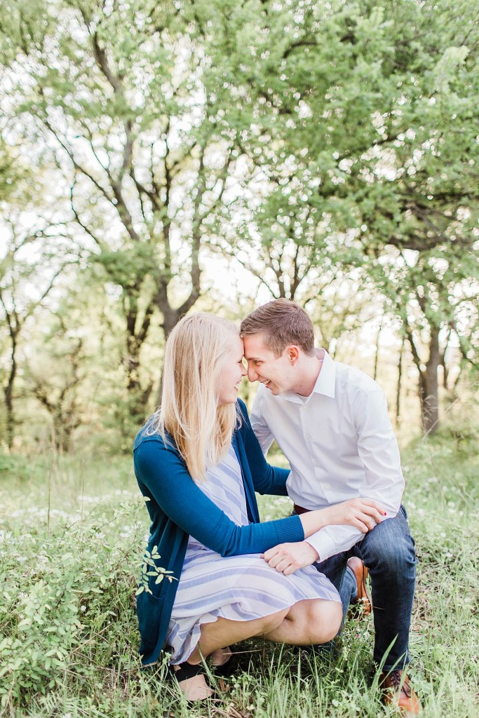 Joyful Spring Engagement Session (Mansfield, Texas)