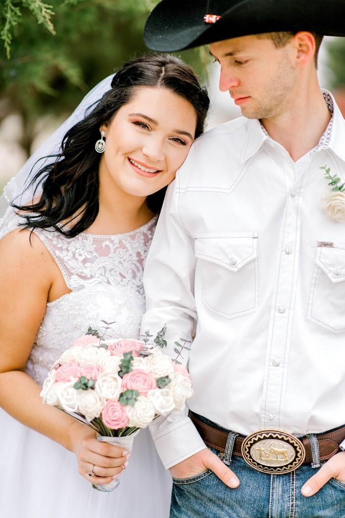 Rustic Intimate Wedding (Waxahachie, Texas)