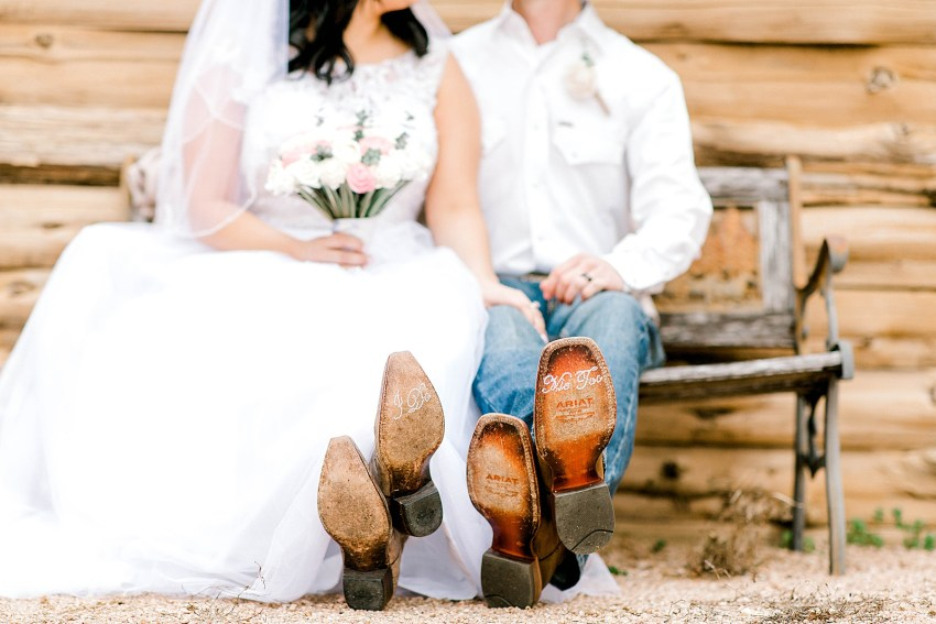 Rustic Intimate Wedding (Waxahachie, Texas)