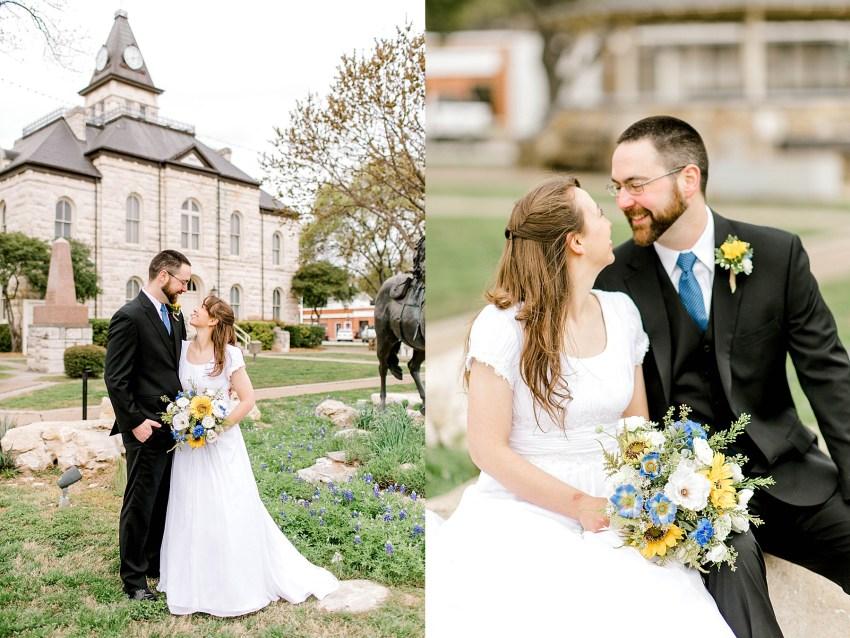 Simple and Sweet Spring Wedding (Glen Rose, Texas)   Becca Sue Photography - beccasuephotography.com