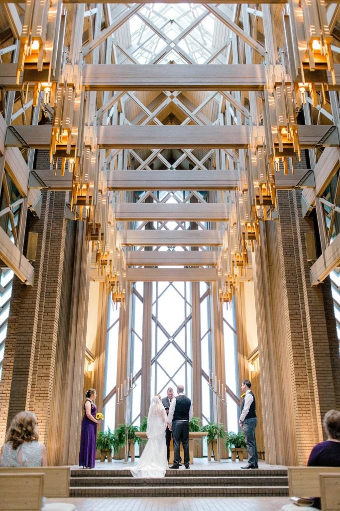 Breathtaking Chapel Wedding (Fort Worth, Texas)
