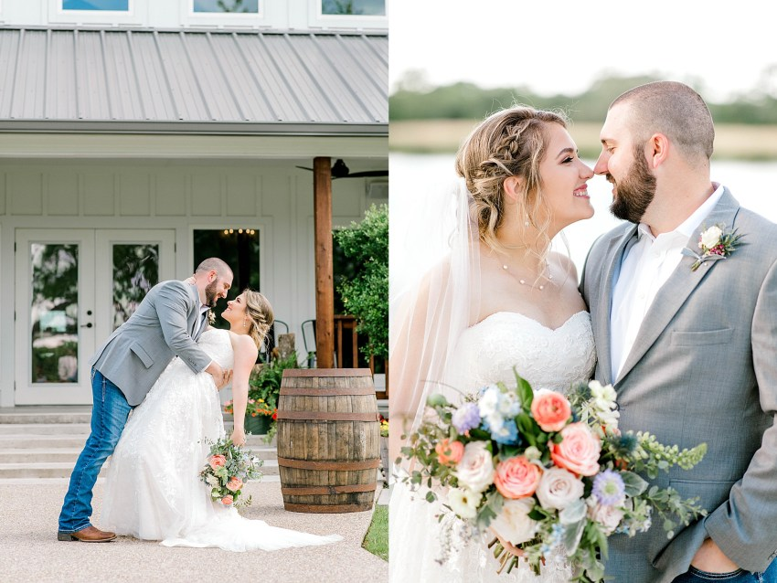 Rustic Chic Spring Wedding (Emory, Texas) | Becca Sue Photography - www.beccasuephotography.com