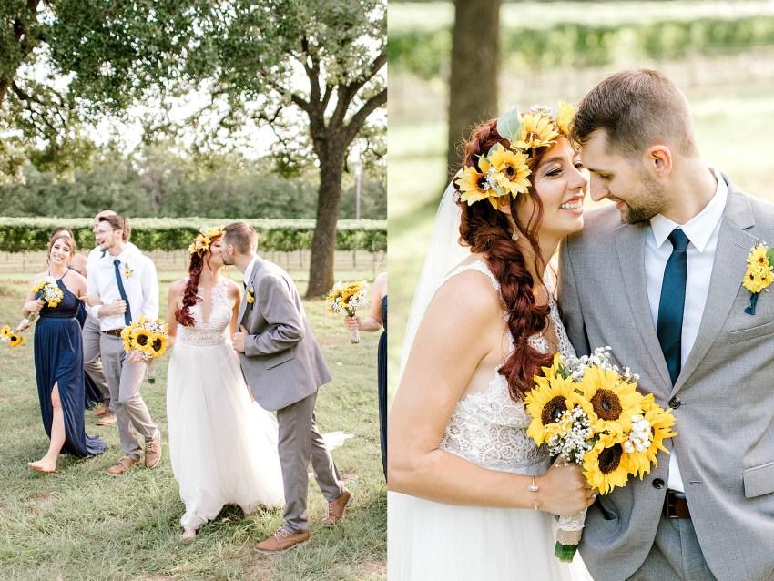 Sunflower Summer Wedding - Burleson, Texas | Becca Sue Photography - www.beccasuephotography.com