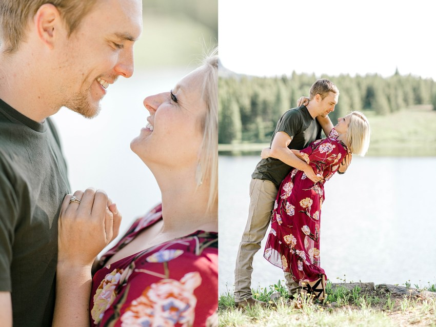 Lakeside Anniversary Session (Andrews Lake, Colorado)   Becca Sue Photography - www.beccasuephotography.com