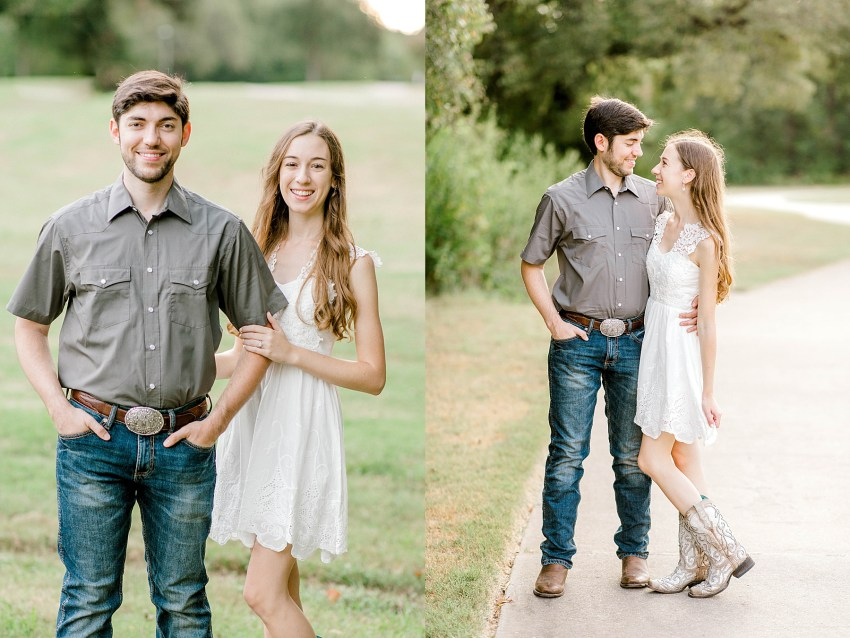 Summer Creek Engagement Session (Flower Mound, Texas) | Becca Sue Photography - www.beccasuephotography.com