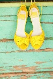 The only thing better than high heels is those that are yellow