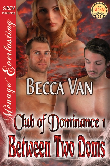 Club of Dominance 1 – Between Two Doms – Blurb