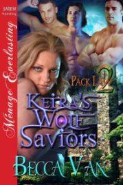 Pack Law 2 – Kiera's Wolf Saviors - By Becca Van Erotic Romance