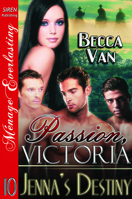 Passion, Victoria 10 – Jenna's Destiny – Blurb