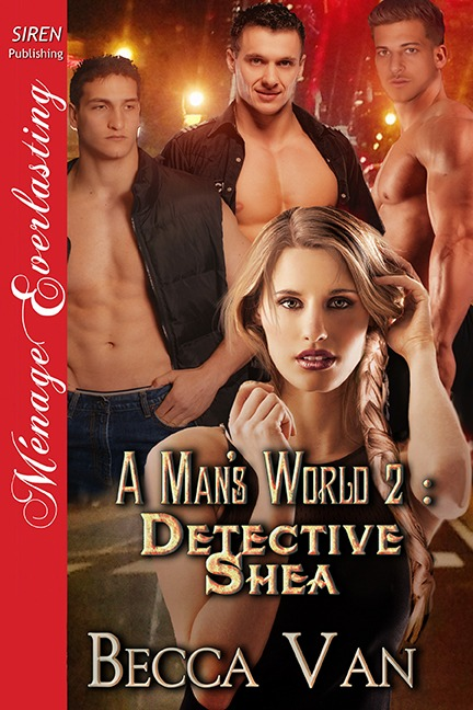 A Man's World 2 – Detective Shea – Blurb
