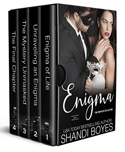 Enigma from The Complete Collection Four book boxed set (The Collectables 1), by Shandi Boyden.