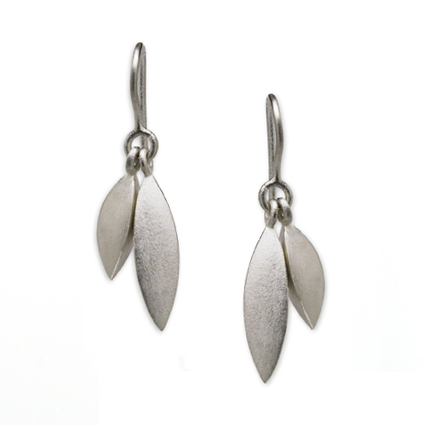 Matt Tidal Double Drop Earrings