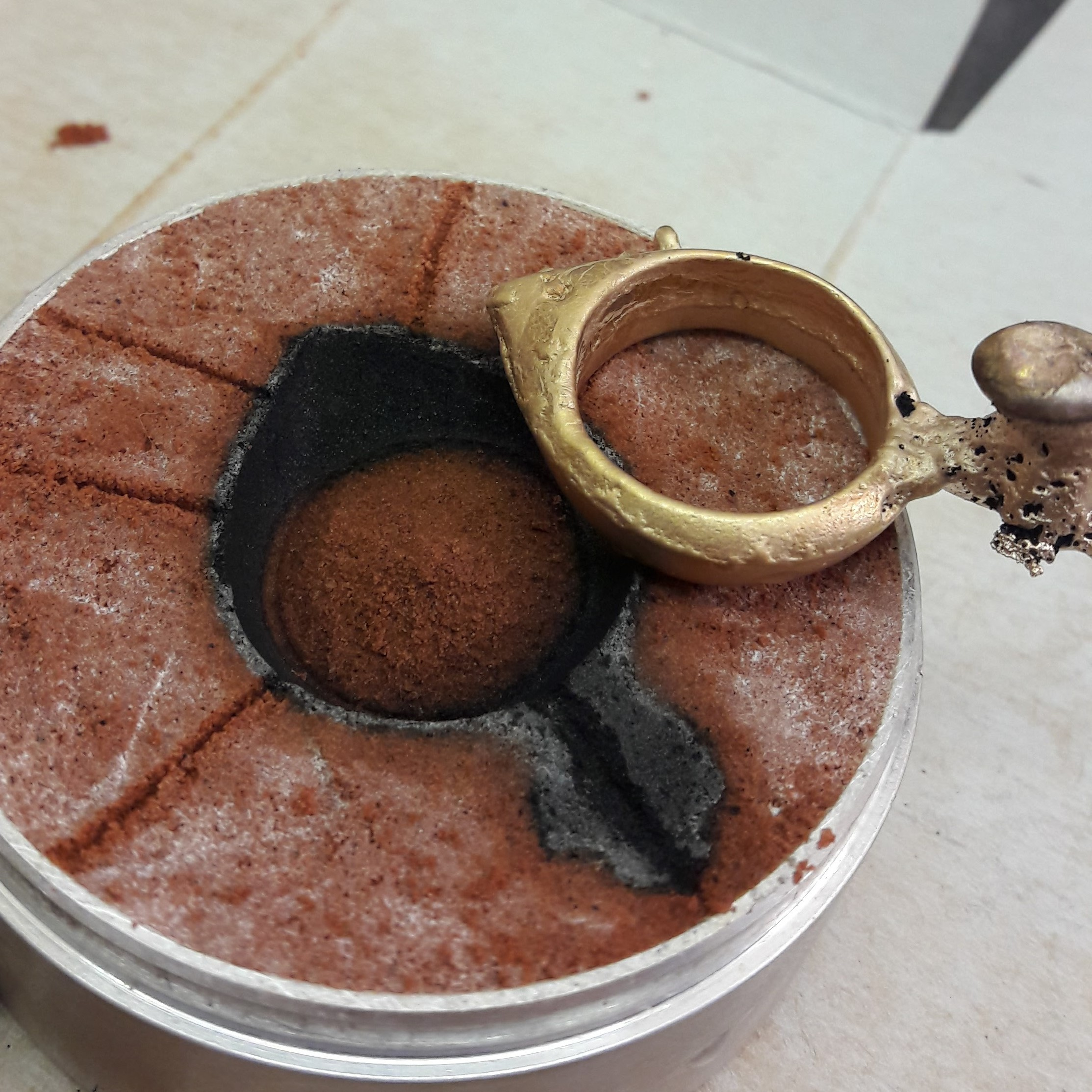Sand Cast Ring
