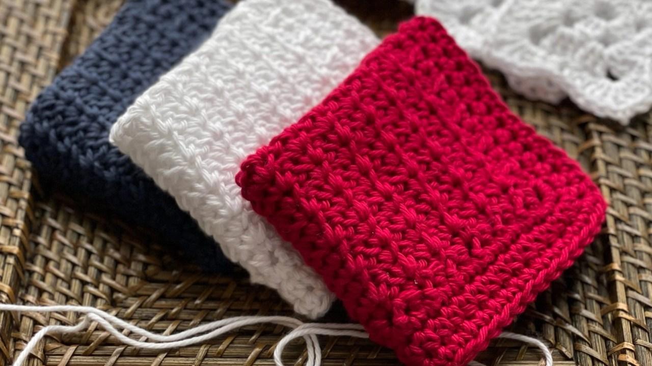 Free Crochet Pattern: Kitchen Favorite Dishcloth, Washcloth