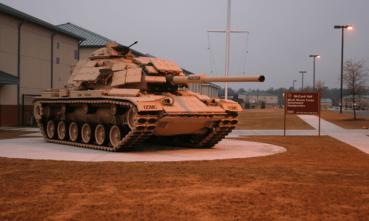 Tank Training Trails - Ft. Benning, GA