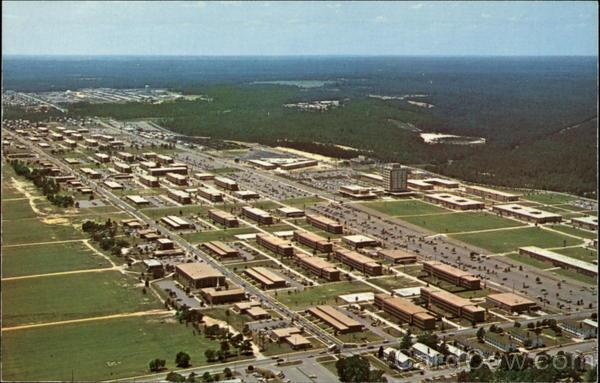 Fort Gordon Aerial View
