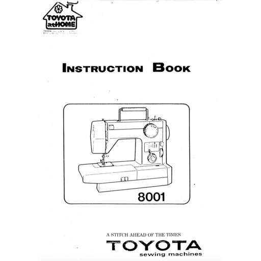 TOYOTA Model 421 + 2260 & 2540 Instruction Manual (Printed)