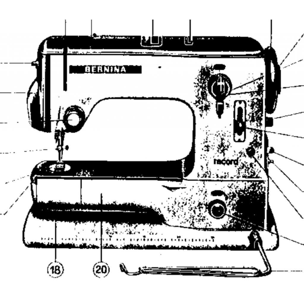 BERNINA 530-2 & 532-2 Instruction Manual (Download)
