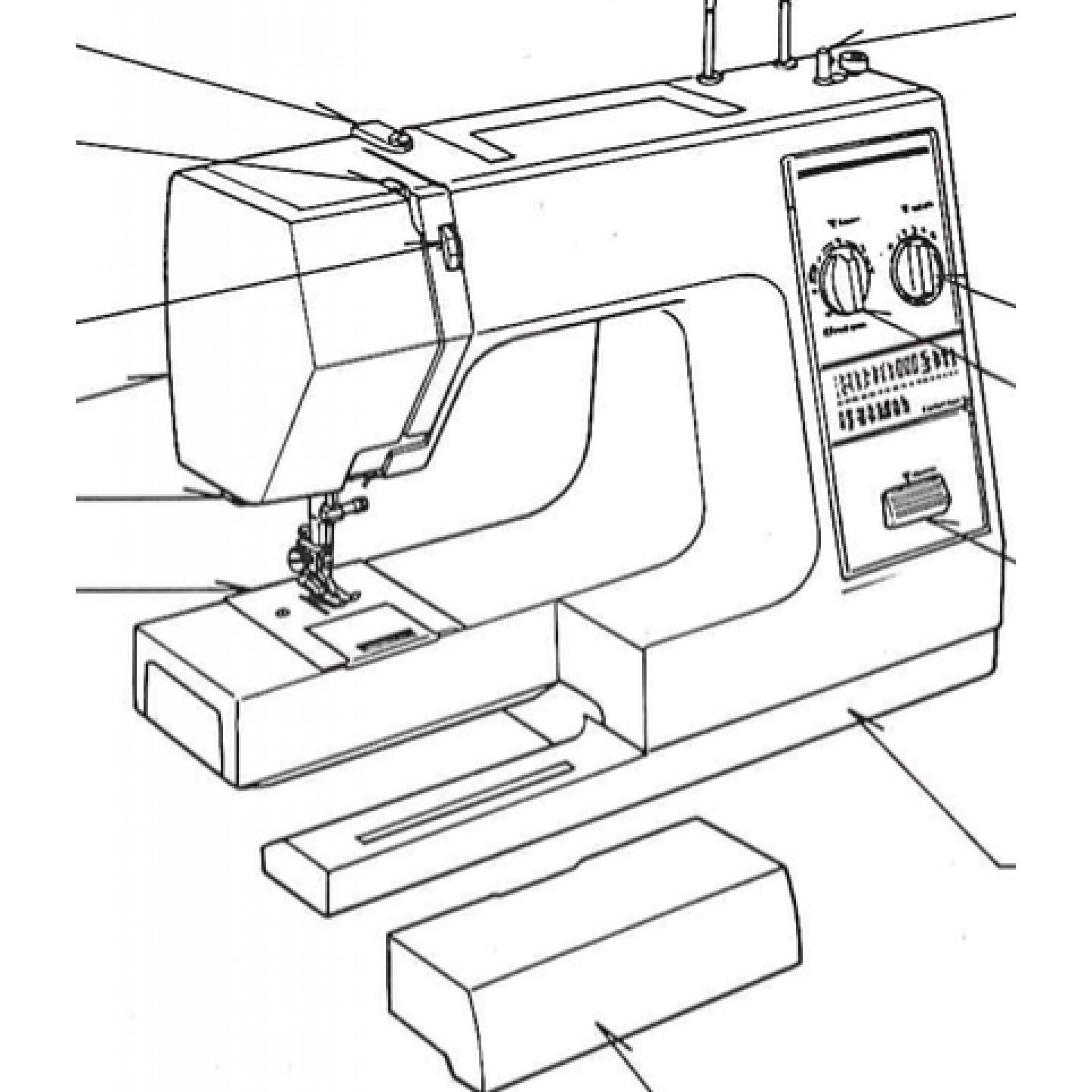 NEW HOME My Style 16 (Model 652) IInstruction Manual