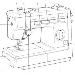 JONES or BROTHER Model VX 857, VX880 & VX883 Sewing