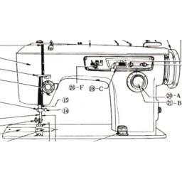 JONES BROTHER Model 888 Sewing Machine Instruction Manual