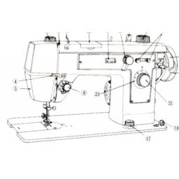 JONES BROTHER Model 949 Sewing Machine Instruction Manual