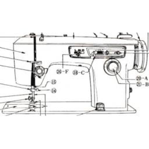 JONES BROTHER Model 888 Sewing Machine Instruction Manual