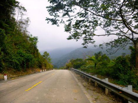 Högre upp i bergen är det nästan alltid molnigt, men denna gång föll inte en endaste droppe regn.
