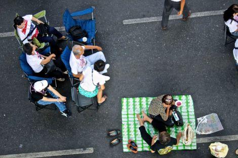Marknad, festival, demonstration. Ibland är gränsen svår.