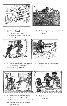 BECE 2014 French Past Questions