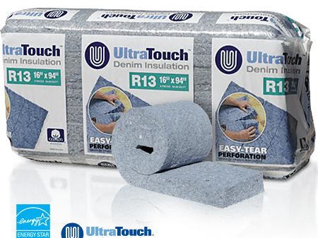 UltraTouch Natural Cotton Insulation