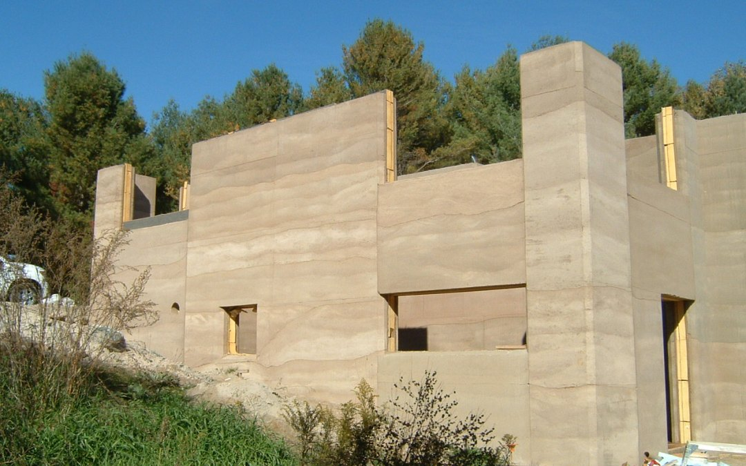 Ontario's First Rammed Earth House