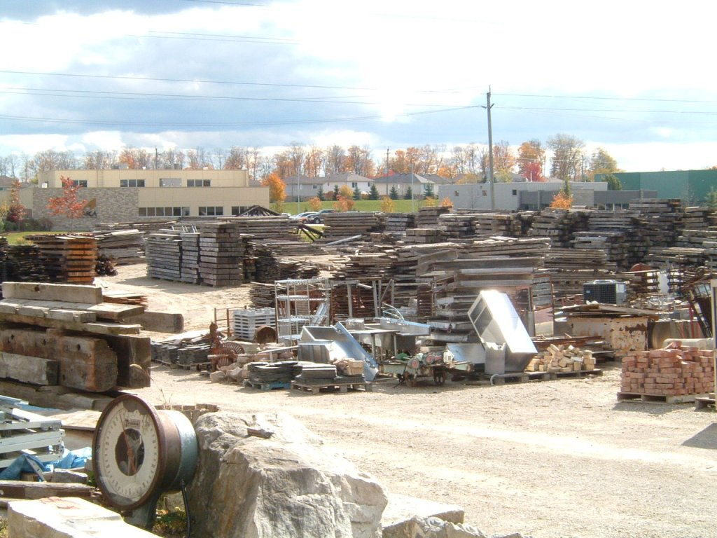 Exterior lot of Timeless Material Company