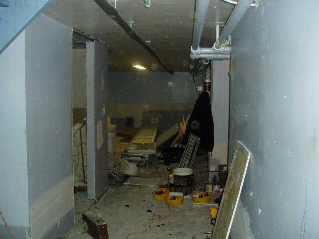 During renovation of affordable green home, Chicago