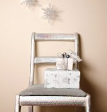 "Festive Silver Chair  ""Don't Junk it Funk it""  Tips from Designers: Jim Connelly and Peter De Sousa"