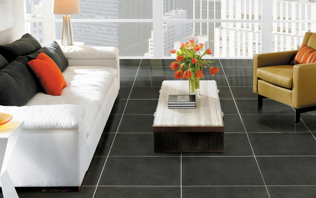 Crossville Bluestone tile containing recycled content