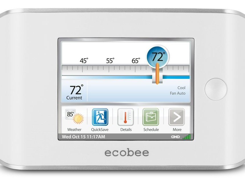 Ecobee Thermostat: Save 25% of your Heating and Cooling Bill