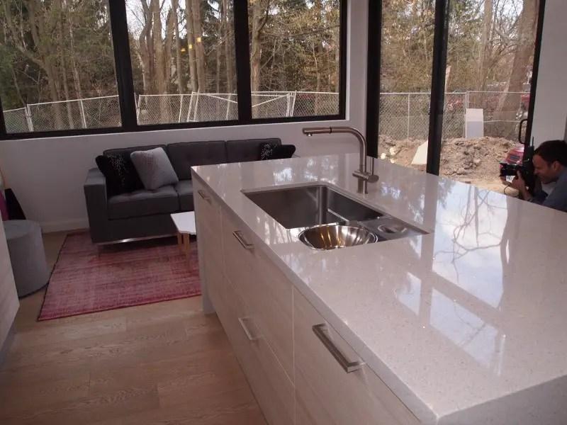 Caesarstone quartz counter top